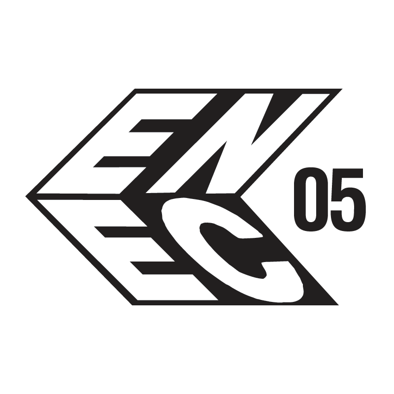 ENEC 05 - Licence mark indicating product conformity with European standards for electric safety of product.