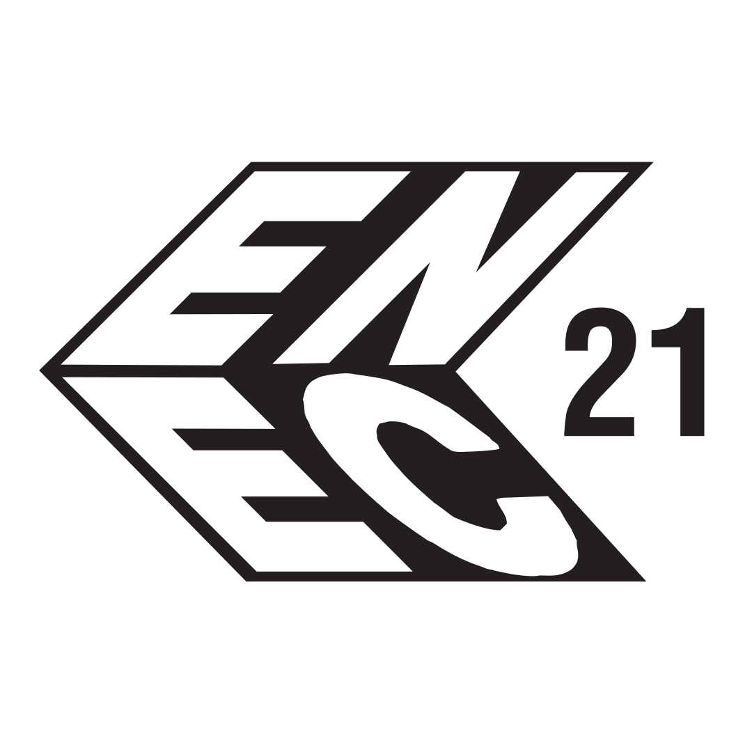 ENEC 21 - Licence mark indicating product conformity with European standards for electric safety of product.