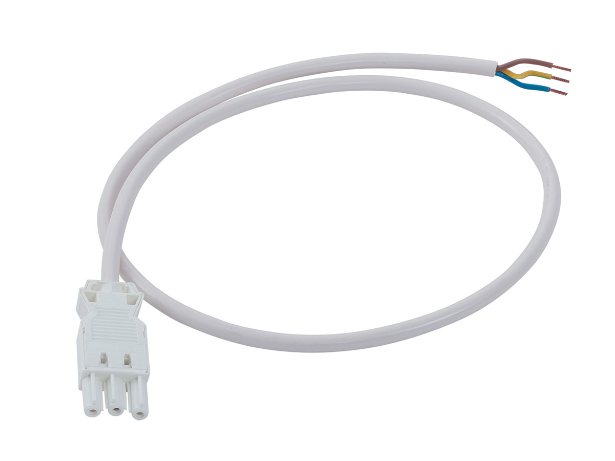 Interconnecting 3-pole cable - female/free