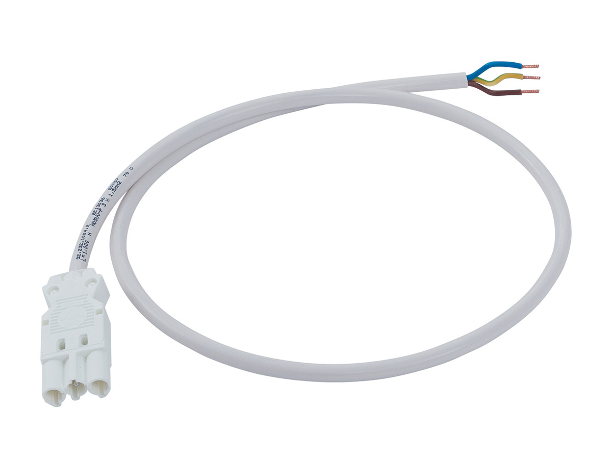 Interconnecting 3-pole cable - male/free